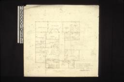 Second floor plan :Sheet no. 1.