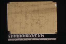 Rough sketch of first floor plan