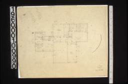 First floor plan, scheme#11d.