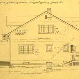 Cottage for Miss Emma M. Bl...