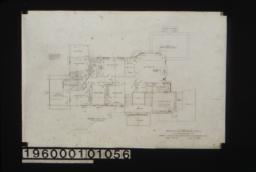 Second floor plan : Sheet no. 3.