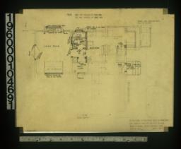 Partial first floor plan :Sheet no. 7.