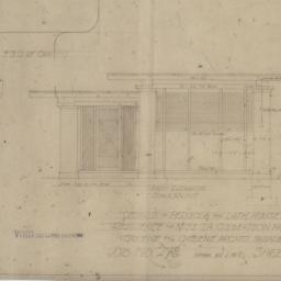Lath house and pergola, res...