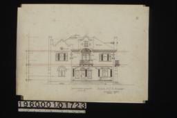 South (or front) elevation :No. 5.