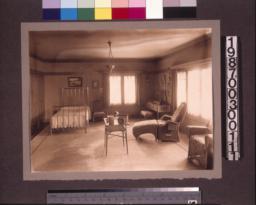 """""""Aunt Julia"""" Huggins's bedroom."""
