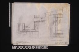 """Insulation details -- plan\, section """"2 /"""