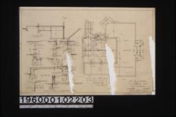 Foundation plan; details in sections\, plan\, and elevation :Sheet no. 1.
