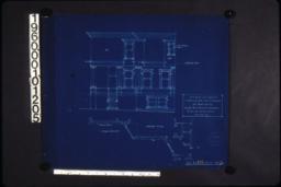 Partial west elevation\, partial plan of second floor :Sheet no. 2.