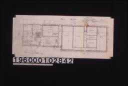 Building -- main floor plan.