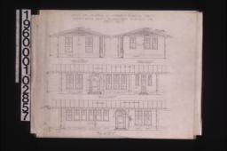 Exterior elevations of office -- north\, south\, west\, east :Sheet no. 2.