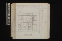 Second floor plan :Sheet no. 4,