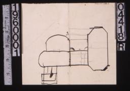Sketch of floor plan (2)