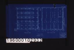 Footing plan\, first floor plan :Sheet no. 1. (2)
