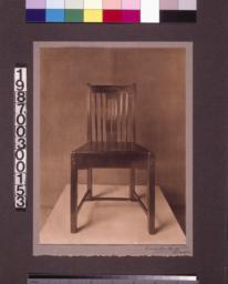 Desk chair designed by Charles Greene.