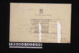 East elevation : Sheet no. 4.