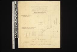 "1 1/2"" scale detail of corner of bay :Sheet no. 5\,"