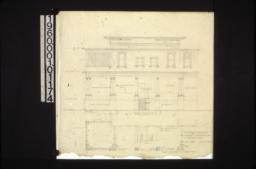 Rear elevation\, plan of rear :Sheet no. 2. (2)