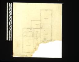 Second floor plan.