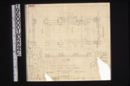 "Paved terrace under oak tree -- plan\, side and end elevations\, section ""A-A""\, detail of pier cap\, section thro' step : Sheet no. 23."