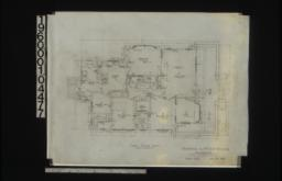 First floor plan : Sheet no. 2. (3)