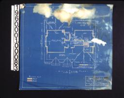Attic floor plan.