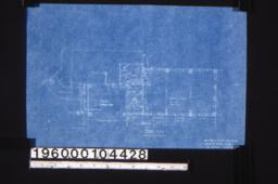 Additions -- floor plan ;Sheet no.4