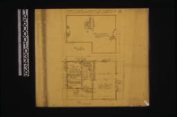 Plan of loft\, main floor plan :No. 1.