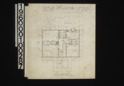 Second floor plan :Sheet no. 2,