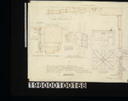 F.S. and scale details of finish in breakfast room :Sheet no. 10. (2)
