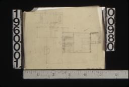 Rough sketch of floor plan