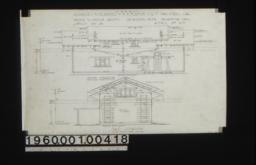 Garage -- south elevation\, east elevation :Sheet no. 3\,