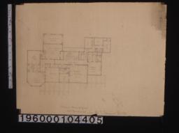 Plan of second floor.