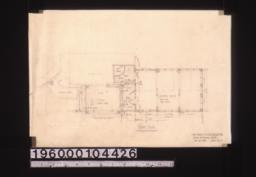 Additions -- floor plan :Sheet no. 4.