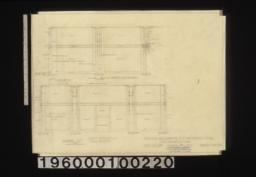 Show room -- north elevation, plan of corner pilaster, plan of side pilaster, west elevation, plan of front pilaster :Sheet no. 39 /