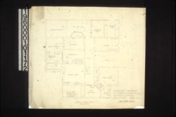 Second floor plan :Sheet no. 1. (4)