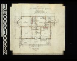 First floor plan : No. 2.