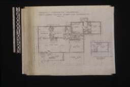 Floor plan; alternative plan of servant's wing (submit separate figure for this plan if used instead of one drawn above) :Sheet no. 2.