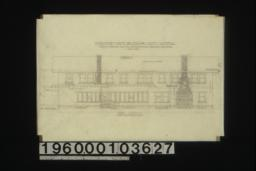 West elevation : Sheet no. 6. (3)