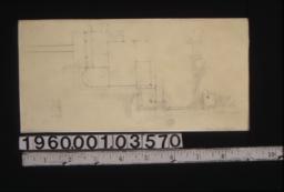 Sketch of site plan