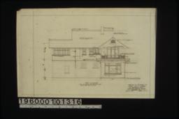 West elevation :Sheet no. 3. (3)