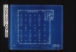 Plan showing second floor fixtures for main building :Sheet 02 /