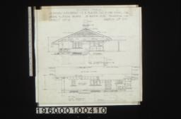 Keeper's house -- east elevation, south elevation : Sheet no. 4,