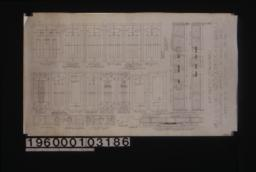 Inch scale and F.S. details of doors :Sheet no. 21\,