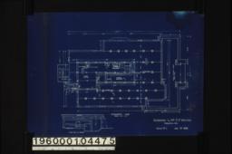 Foundation plan; elev. of furnace :Sheet no. 1. (2)