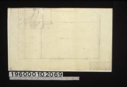 Plan of wall for south lot :Sheet no. 5.