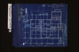 """Foundation plan; foundation details -- post footing\, wall section (see elevations for height of walls)\, porch piers\, section """"C-C"""" :Sheet no. 1. (8)"""