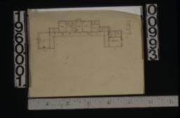 Sketch of first floor plan (3)