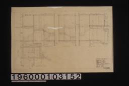 Stair details -- sections\, plan :Sheet no. 6.