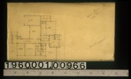 Revised scheme 1 -- first floor plan