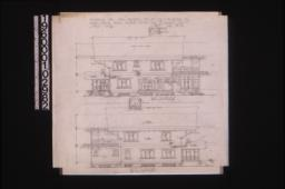 East elevation, west elevation : Sheet no. 6,